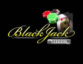 #48 for Design a Logo for Blackjack Freeroll af JuanBarrera