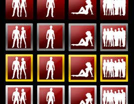 ArshamC tarafından Design icons for membership levels of a adult website için no 22