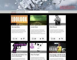 #18 for Design a Website Mockup for Loolooxbeatz af lkla