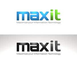 #116 for Design a Logo for MaxIT by vinkisoft