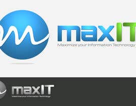 #146 for Design a Logo for MaxIT by vinkisoft