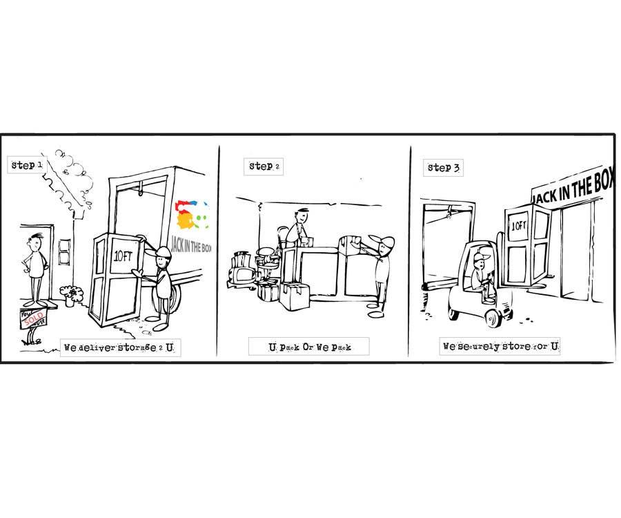 Kilpailutyö #                                        27                                      kilpailussa                                         Illustrate 1 2 3 step storage process