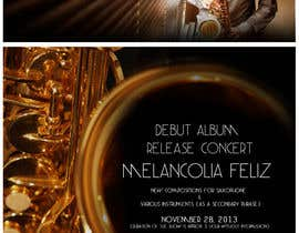 #1 para Design a Flyer for Album Release Concert por samuelbastien