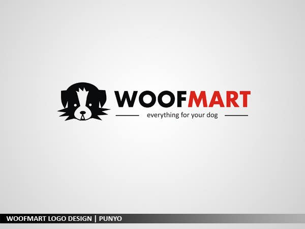 #48 for Logo design for Woof Mart by punyo