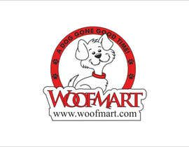 #27 para Logo design for Woof Mart por raju2301