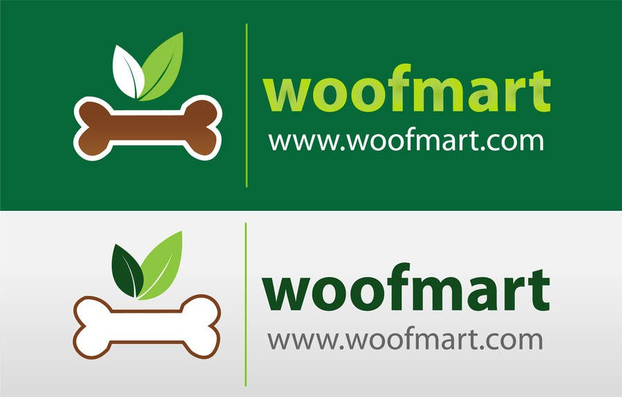 #13 for Logo design for Woof Mart by shyRosely