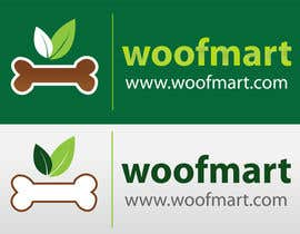 #13 para Logo design for Woof Mart por shyRosely