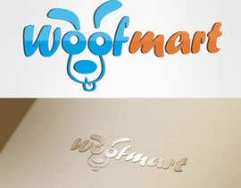 #33 para Logo design for Woof Mart por dheyness