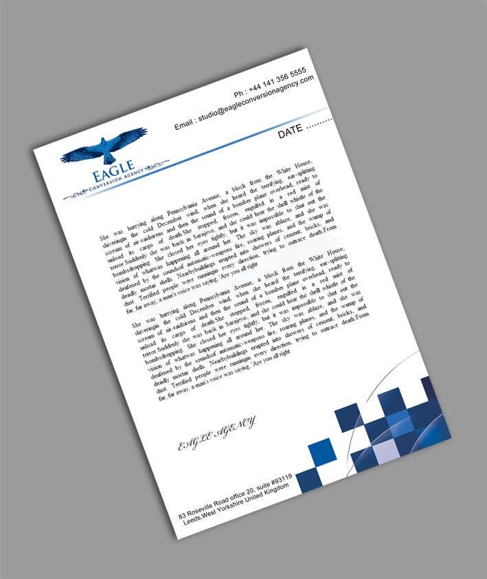 #50 for Design my Company Letterhead by sreesiddhartha