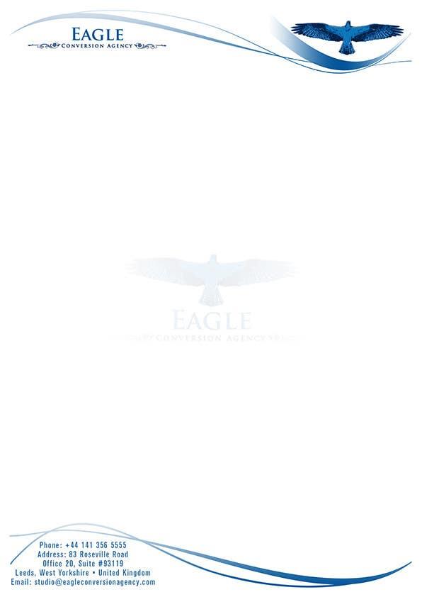 #37 for Design my Company Letterhead by designBox16