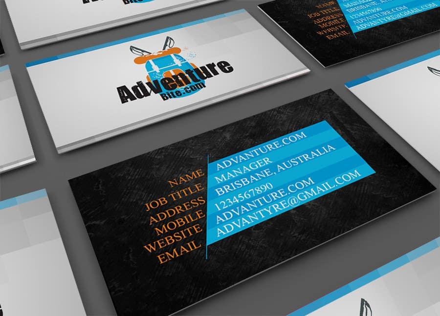 #5 for Design some Business Cards for AdventureBite.com by rathar