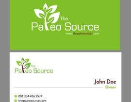 #105 untuk Online Health Food Store Business Card oleh petersamajay
