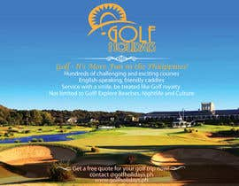 #21 for Poster/ Advertisement for Golf Holidays  - RUSH Deadline Sep.13 af victorianeyes