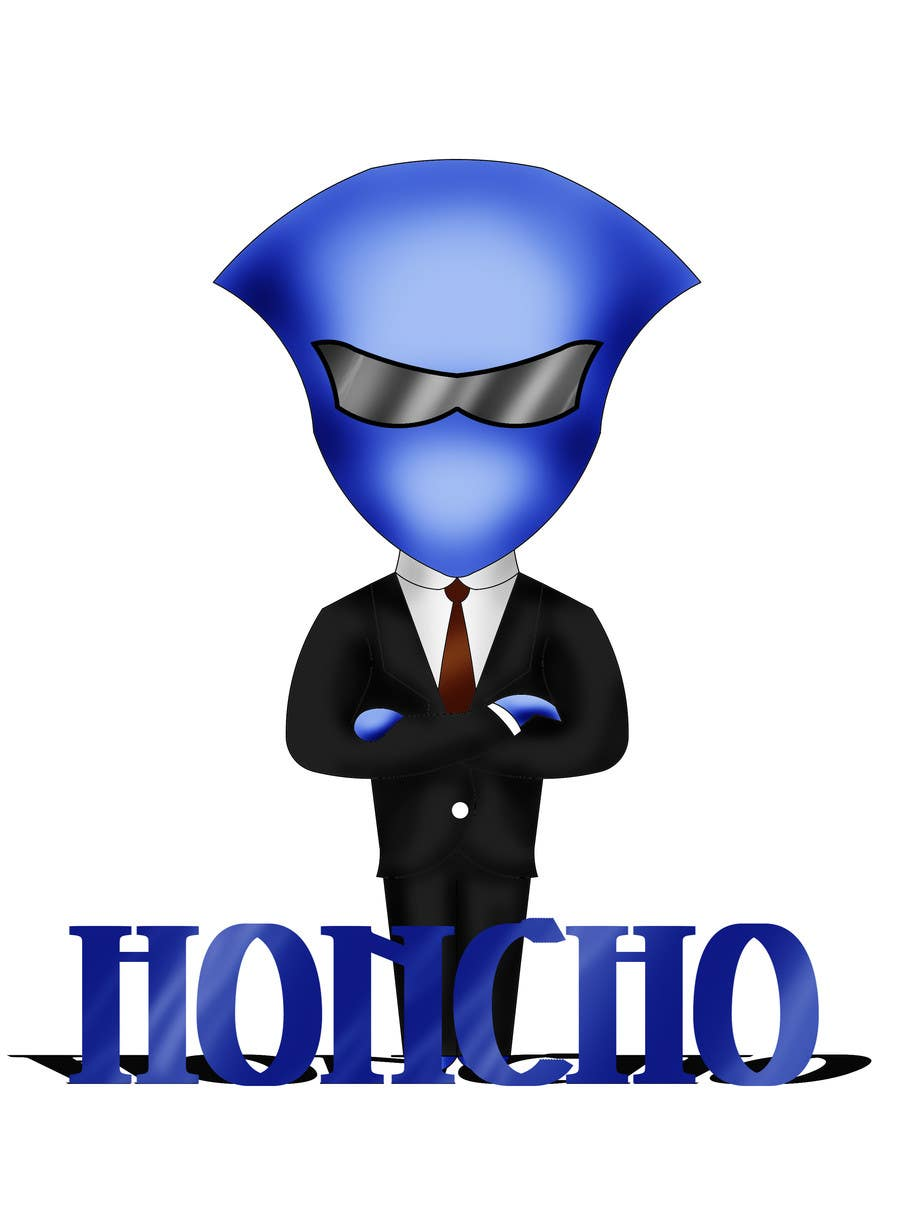 #54 for Design a 2D/3D Illustration/Cartoon/Mascot for Honcho by raycboston
