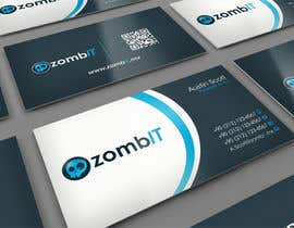 nº 16 pour Business Cards for zombit.mx par midget