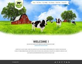 nº 5 pour Design a Website Mockup for IslandFarming.com & Logo par SadunKodagoda