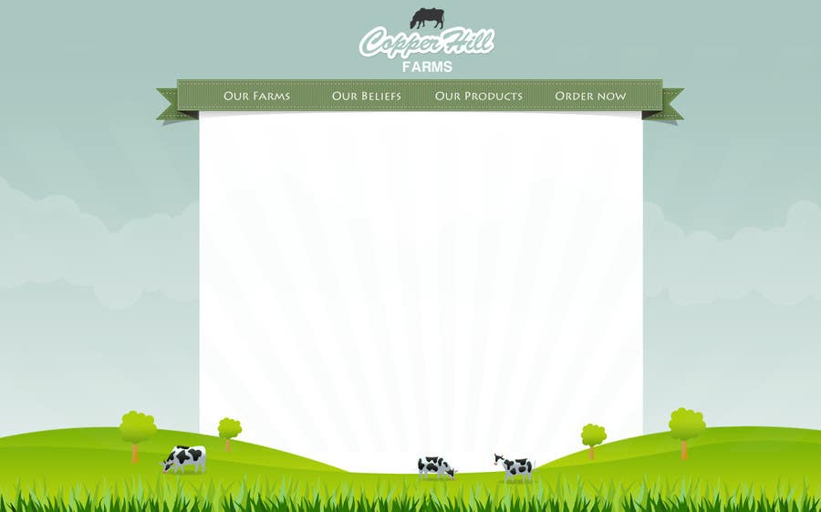#18 for Design a Website Mockup for IslandFarming.com & Logo by vimoscosa