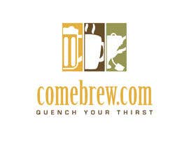 #43 for ComeBrew Logo Design by crvdesign