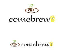 #27 for ComeBrew Logo Design af RoxanaFR