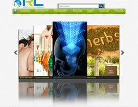 kosmografic tarafından Wordpress Theme Design for Import Research Chemicals için no 10