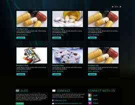 tania06 tarafından Wordpress Theme Design for Import Research Chemicals için no 9