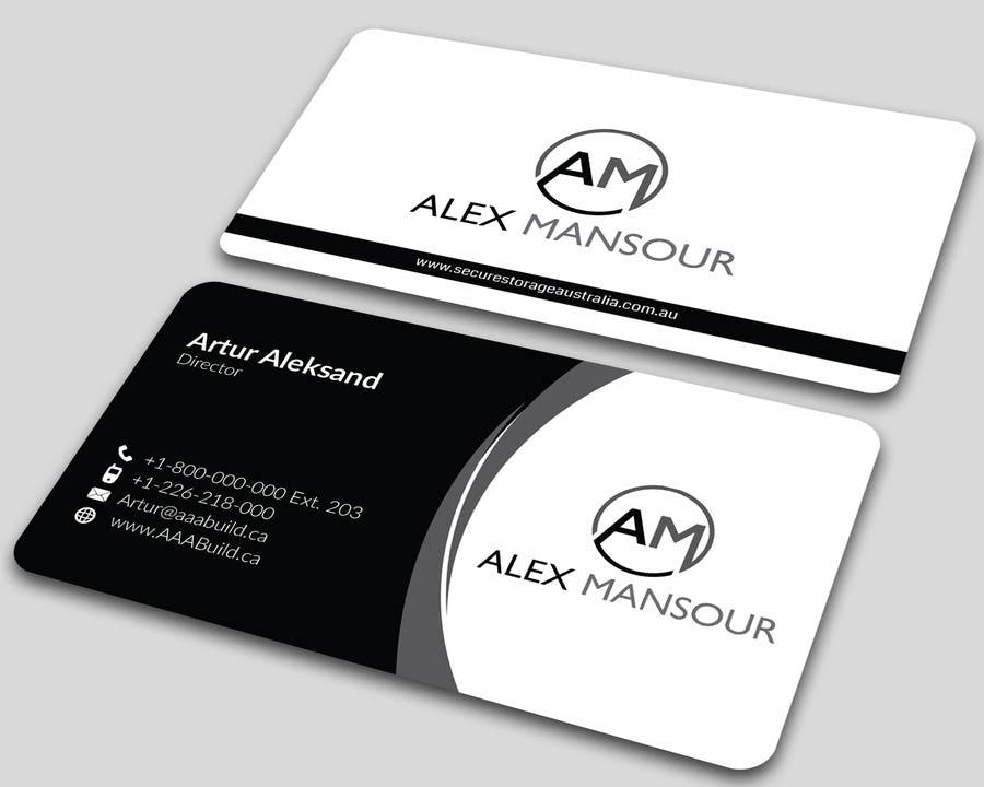 Entry #13 by ALLHAJJ17 for Business Card design for Freelance ...