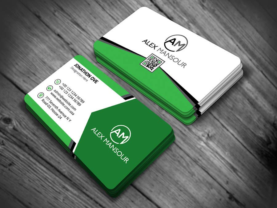 Entry #18 by nasir34 for Business Card design for Freelance Software ...