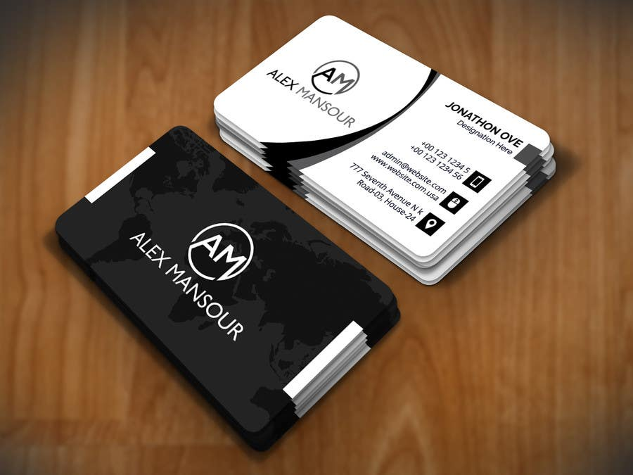 Entry #22 by nasir34 for Business Card design for Freelance ...