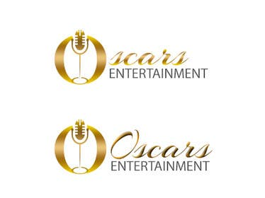 #90 for Design a Logo for Oscars Entertainment by iwrotethose