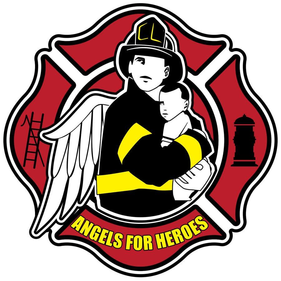 """Penyertaan Peraduan #22 untuk Design a Logo for """"Angels for Heroes"""""""