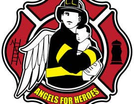 "#22 untuk Design a Logo for ""Angels for Heroes"" oleh houerd"