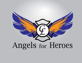 "#8 untuk Design a Logo for ""Angels for Heroes"" oleh FrancescaPorro"