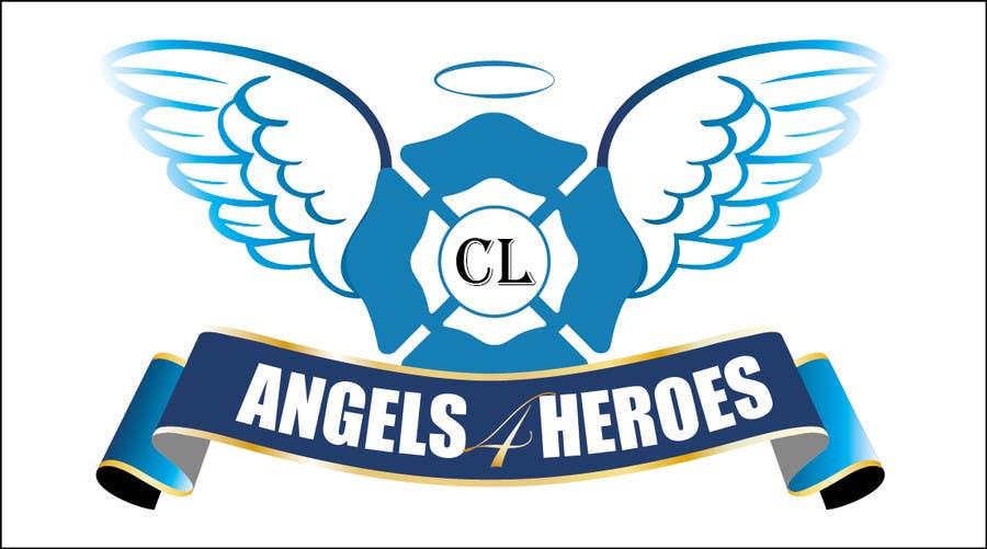 """Penyertaan Peraduan #18 untuk Design a Logo for """"Angels for Heroes"""""""