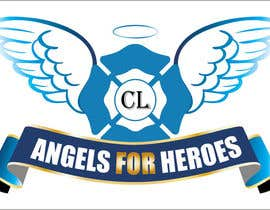 "#28 untuk Design a Logo for ""Angels for Heroes"" oleh swethanagaraj"