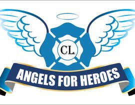 "#29 untuk Design a Logo for ""Angels for Heroes"" oleh swethanagaraj"