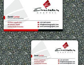 "#37 para Design some Business Cards for my company ""Emirates Graphic"" por allynutz"