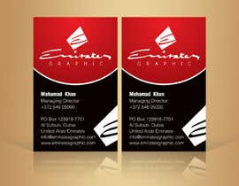 "#28 untuk Design some Business Cards for my company ""Emirates Graphic"" oleh linokvarghese"