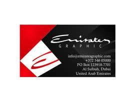"#33 para Design some Business Cards for my company ""Emirates Graphic"" por powershell"