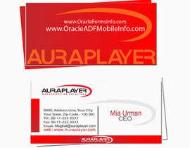 #18 for Design some Business Cards for AuraPlayer by mughal300