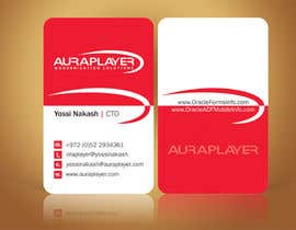 #21 for Design some Business Cards for AuraPlayer by linokvarghese