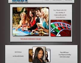#41 untuk Website Design for A Leading Live Casino Software Provider oleh Medina100