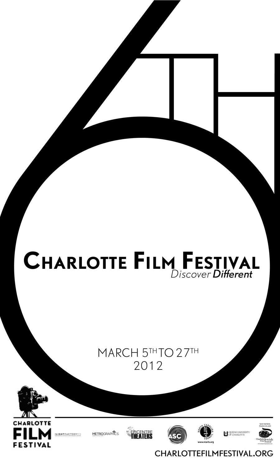 Proposition n°35 du concours Design materials for the Charlotte International Film Festival