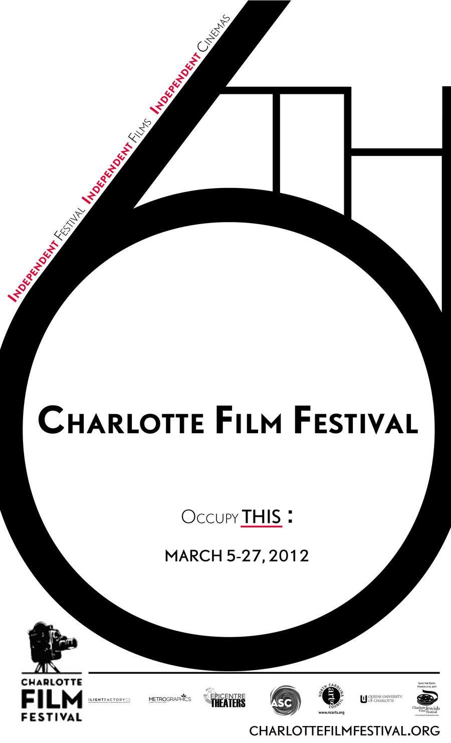 Proposition n°76 du concours Design materials for the Charlotte International Film Festival