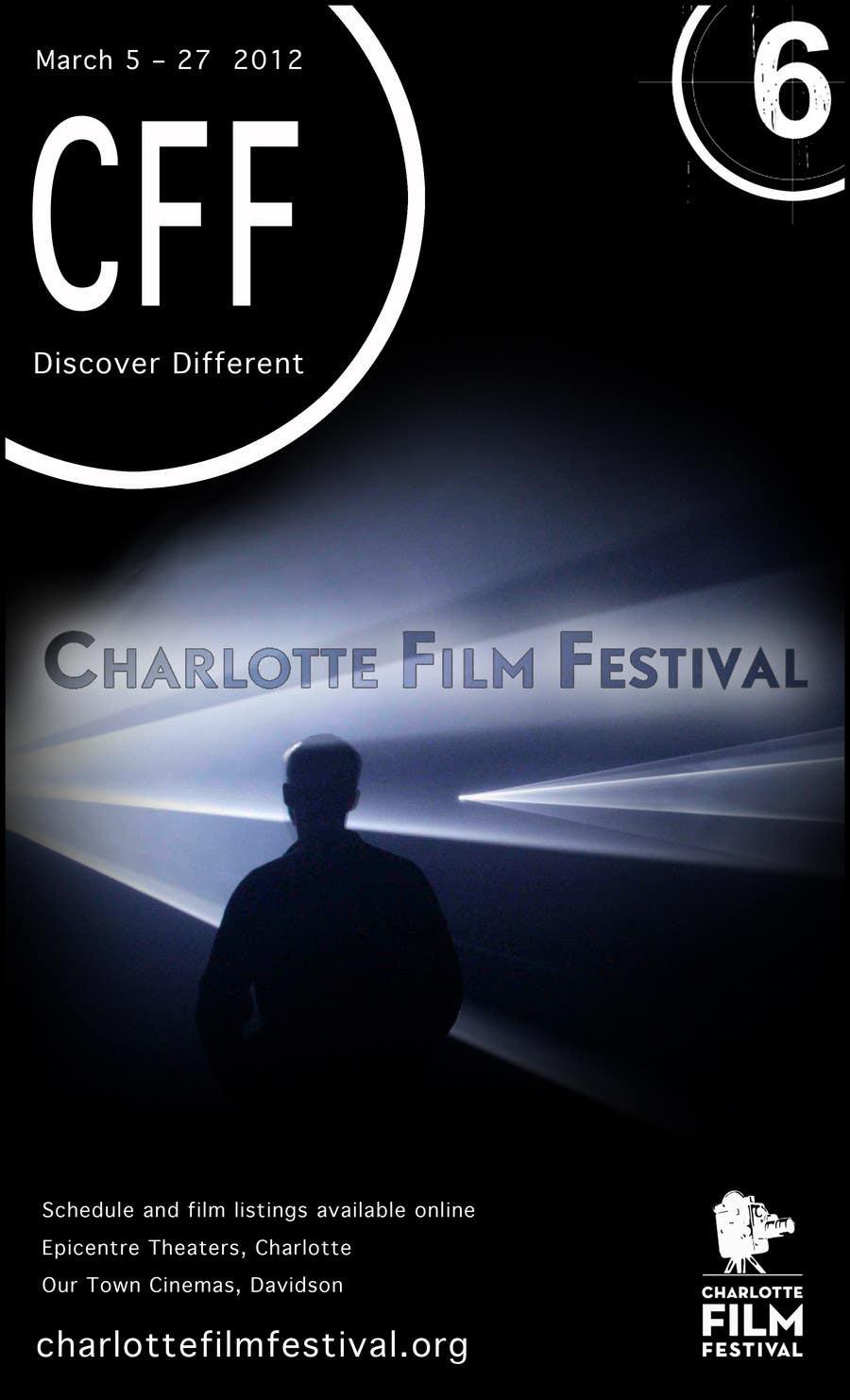 Proposition n°107 du concours Design materials for the Charlotte International Film Festival