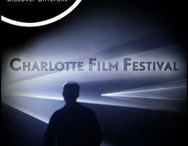#107 for Design materials for the Charlotte International Film Festival by arfling