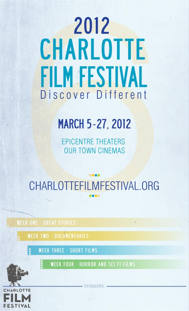 Proposition n°53 du concours Design materials for the Charlotte International Film Festival