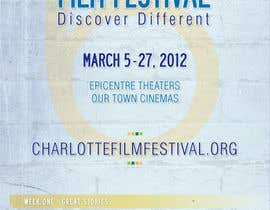 #96 for Design materials for the Charlotte International Film Festival by Identity12