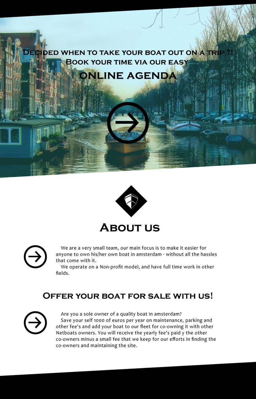 Kilpailutyö #                                        7                                      kilpailussa                                         Design a Website Mockup for netboats.org