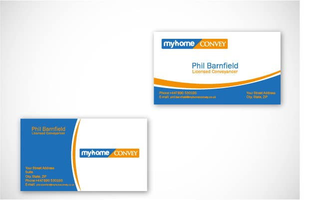 Penyertaan Peraduan #17 untuk Business Card Design for Real Estate Lawyer with revision of logo.