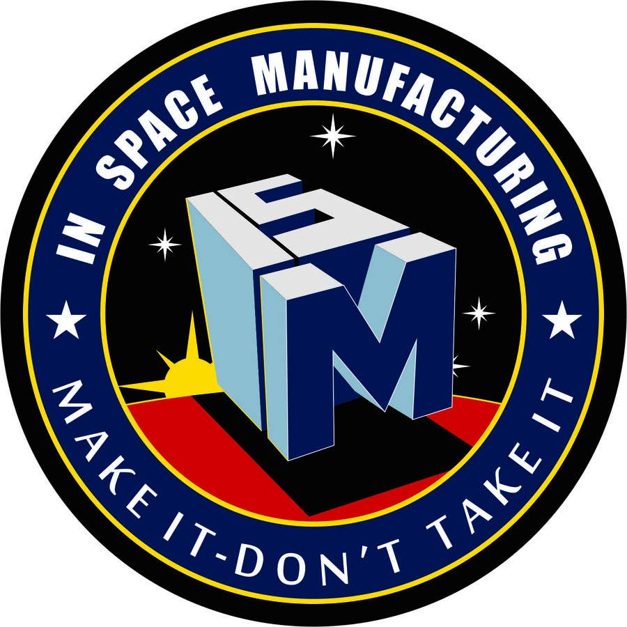 Contest Entry #576 for NASA In-Space Manufacturing Logo Challenge
